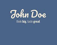 Logo Presentation (John Doe)