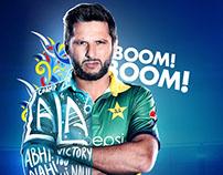 Pepsi Cricket Posters