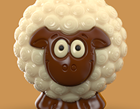 Lolli Chocolate 3d Zbrush