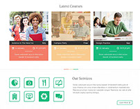 Unilearn PSD Template - HTML & Wordpress in future