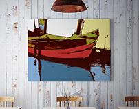 Illustrazione Barche