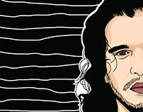 Kit Harington Illustration