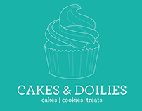 Cakes and Doilies (Home Bakery) // Logo Design