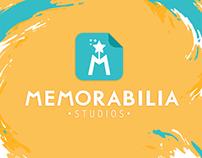 Memorabilia Studios | Art Brand Identity