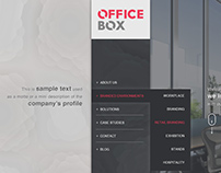 Office Box website project