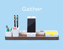 Gather: The minimal, modular organizer.