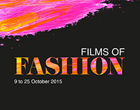 Films of Fashion Poster Design