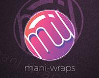 Incomplete - Mani Wraps Branding and Logo Design