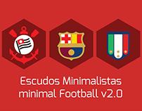 Escudos de Futebol Minimalistas / Minimal Football