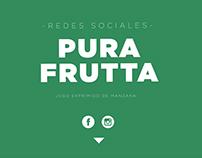 REDES SOCIALES  - PURA FRUTTA