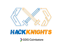 Logo Design and Branding for HackKnights
