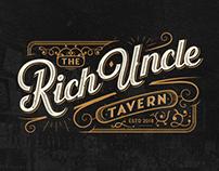 Vintage logo - The Rich Uncle tavern