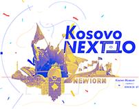 Kosovo NEXT 10 interactive exhibition