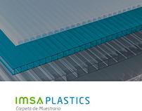 IMSA Plastics / Diseño de Carpeta de Muestrario