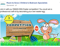 Easter Competition - Facebook Graphic