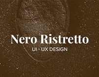 Nero Ristretto - UI/UX Design