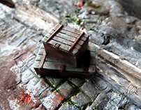 Vintage Miniature by Gül ipek