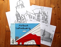 Molbuch Lëtzebuerg / Colouring Book Luxembourg