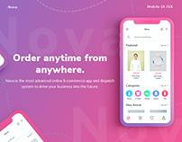 Nova E-commerce UI Kit