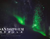Abstract Sandstorm Nebula Backgrounds
