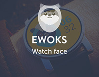 Ewoks watch face