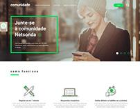 Netsonda - Comunidade