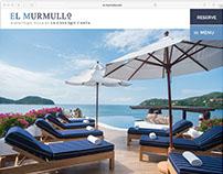 El Murmullo - Boutique Hotel website