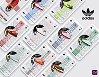 Adidas brand Ui/Ux mobile