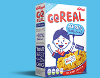 Repackage of Kellogg's cereal - Student Project