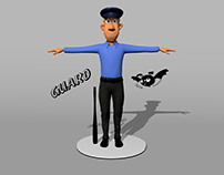 Guard Character model