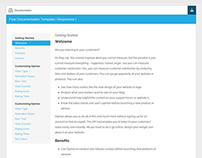Free Documentation HTML Template – DocWeb