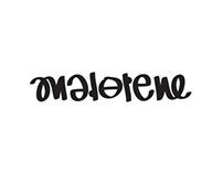 Ambigram - Madelene