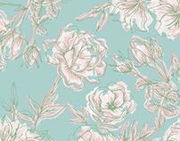 TREND ◈BOOK / Pattern Creation ◈ Minimal Flowers