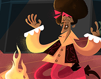 Jimi Hendrix Fanart