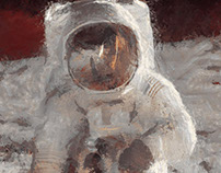 What if Monet was a spaceman?