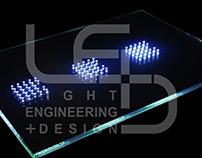Logo Design. Light Engineering + Design