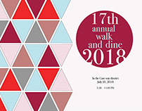 Walk and Dine 2018 Pamphlet