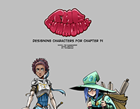 The Cummoner - designing characters