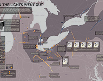 WHEN THE LIGHTS WENT OUT | Infographic