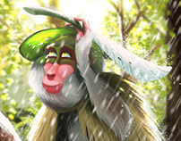 Bashō's Monkey