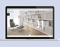 Portfolio website for Interior Design Agency