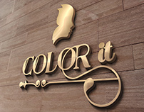 """""""COLOR It"""" Logo, Price, Business card"""