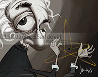 Albert Einstein_By Janlops