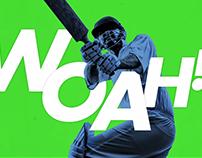 Cricket Scoreboard 'SIX' Animations