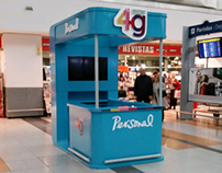 telecom personal stand