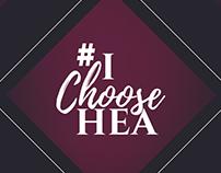 #IChooseHEA