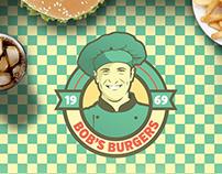 Bob's Burgers Branding