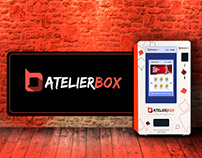 AtelierBox - Digital Vending Machine UI and UX