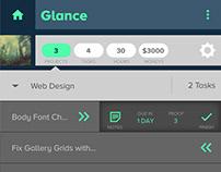 Glance - Task APP