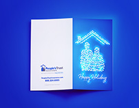 Holiday Card & Email for People's Trust
